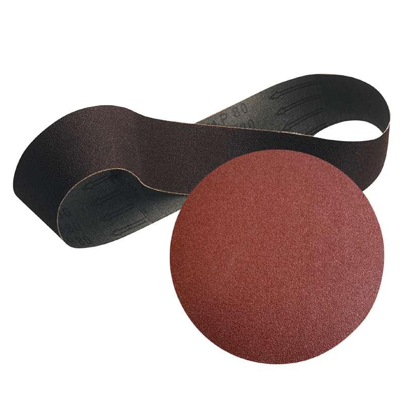 Nastro e disco abrasivo