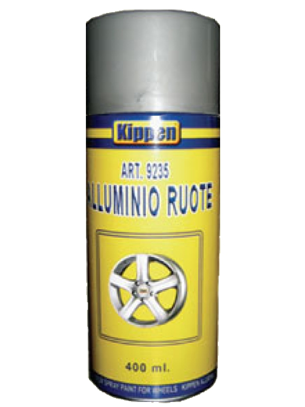 Alluminio spray per ruote 400 ml Kippen
