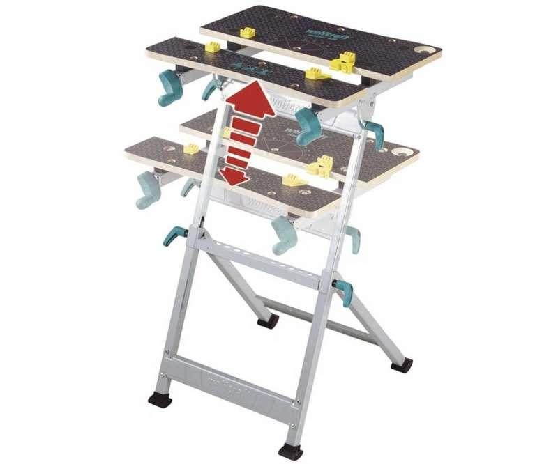 Banco Di Lavoro Wolfcraft : Wolfcraft master tavolo da lavoro amazon fai