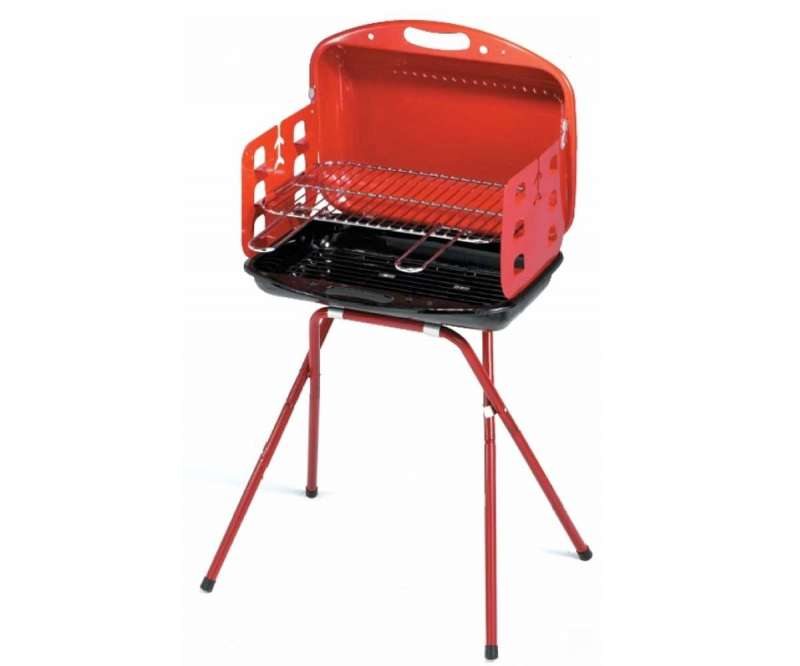 Barbecue a carbone a valigetta Boy-Eco Ompagrill