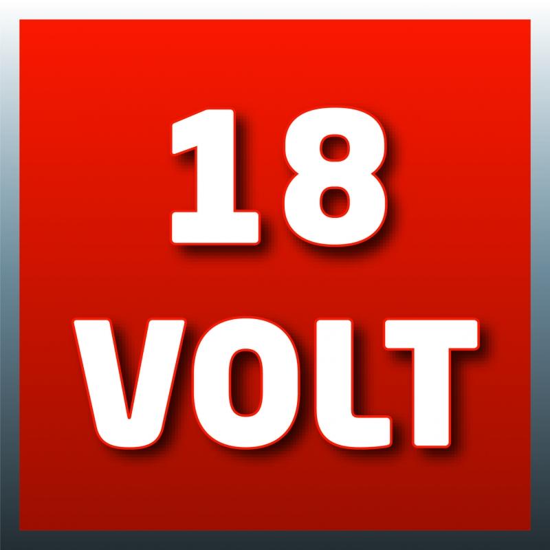 Batteria a litio 18V