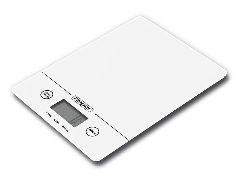 Bilancia da cucina elettronica slim design beper giordanojolly - Bilancia elettronica da cucina ...