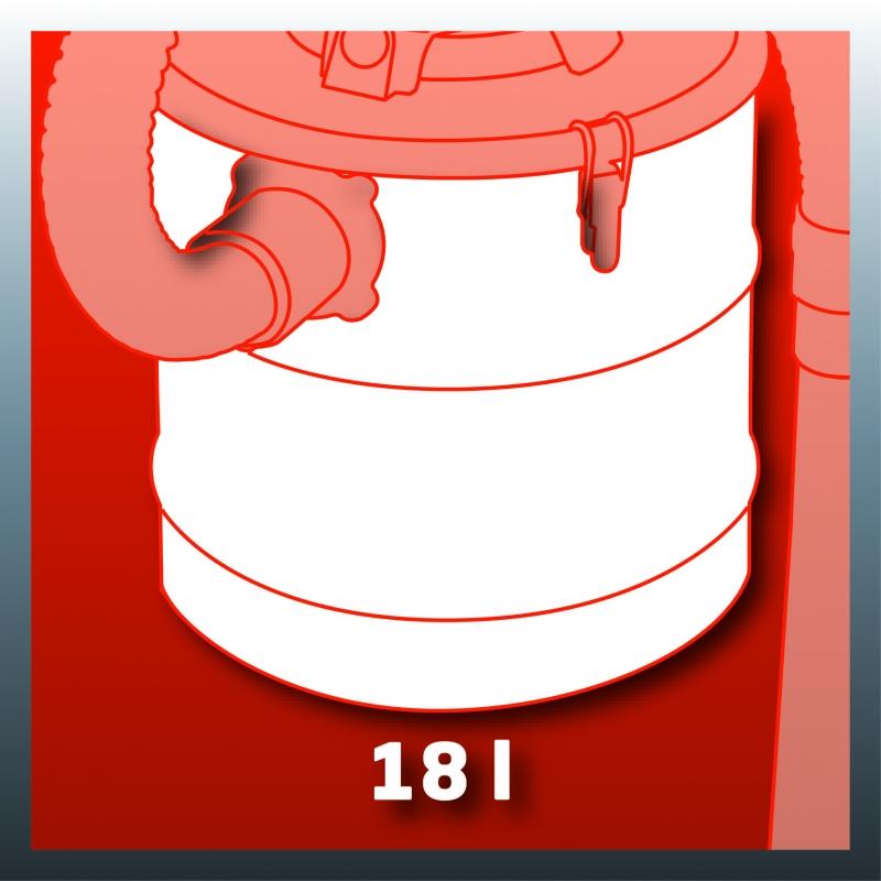 Serbatoio da 18 litri