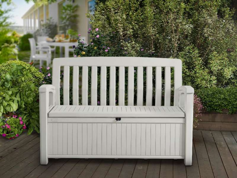 Cassapanca in resina Patio Bench Keter