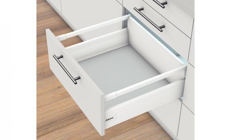 Arredo Bagno Blum : Set accessori per montaggio cassetto con ringhierine tadembox blum