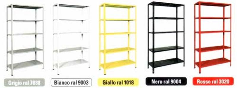 Scaffale a bullone 100x40 5 piani bizzotto b200 for Piani di garage gratuiti con lista dei materiali