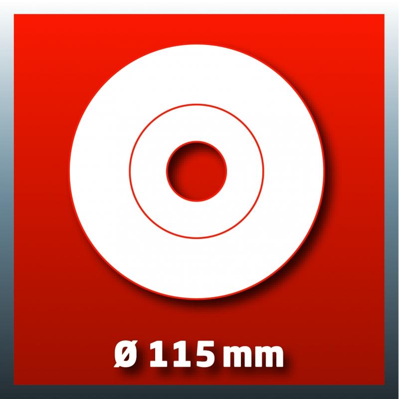 Disco da 115mm