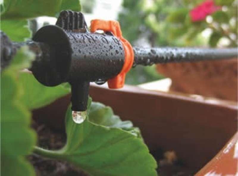Kit Irrigazione A Goccia Per 12 Vasi Con Programmatore Gf