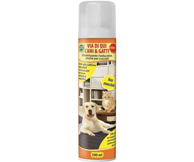 Disabituante spray per cani e gatti 330ml. Mondo verde