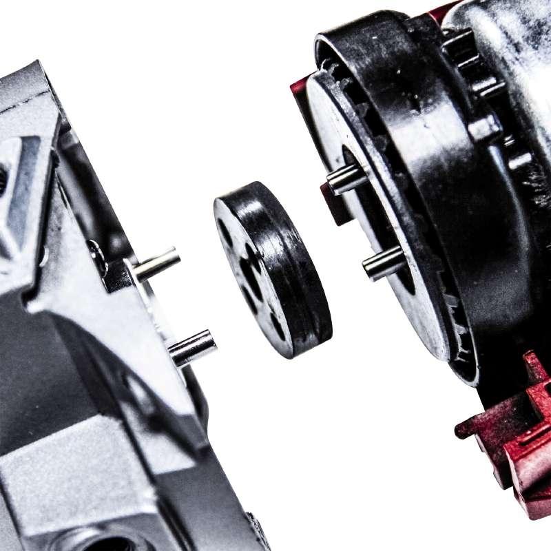 Disaccoppiamento del motore e della trasmissione