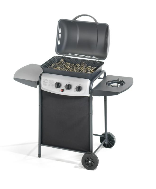 Barbecue a gas ompagrill 4938 cr ecolava plus giordanojolly for Giordano shop barbecue a gas
