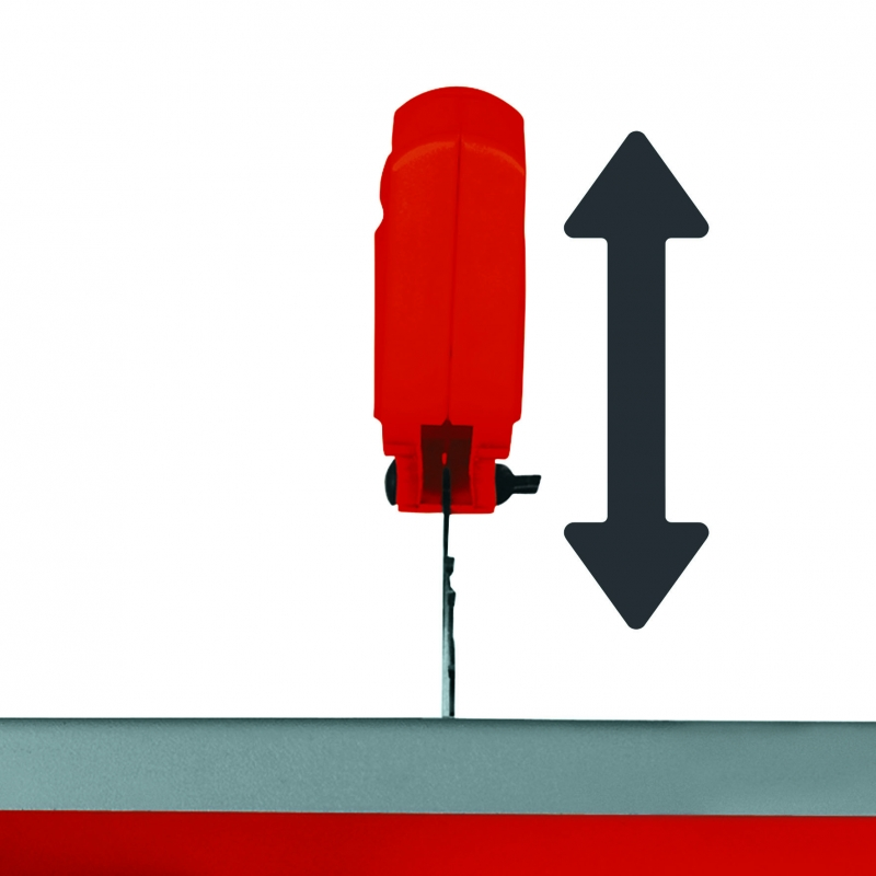 Guida parallela con doppia altezza guida