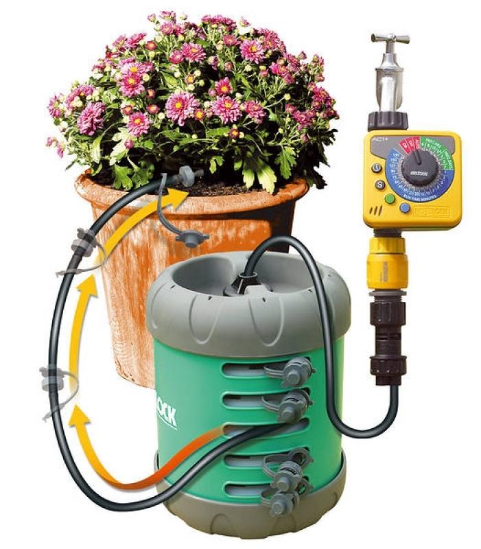 Kit irrigazione vasi acquapod 10 2823 giordanojolly for Kit irrigazione automatica