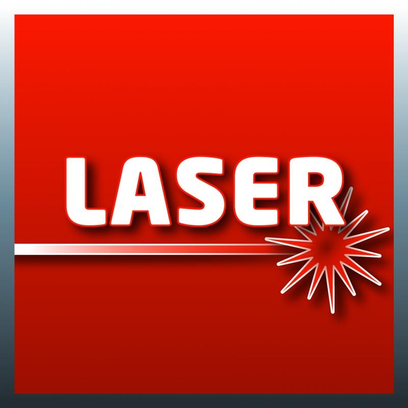 Laser incluso