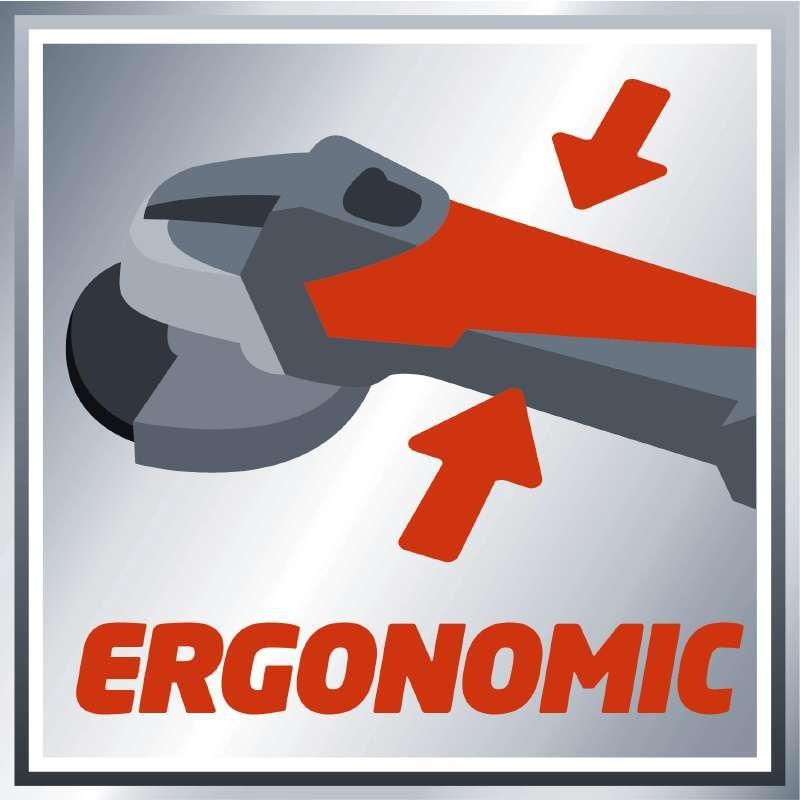 Manico ergonomico antiscivolo