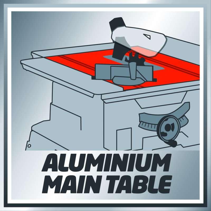 Piano in alluminio