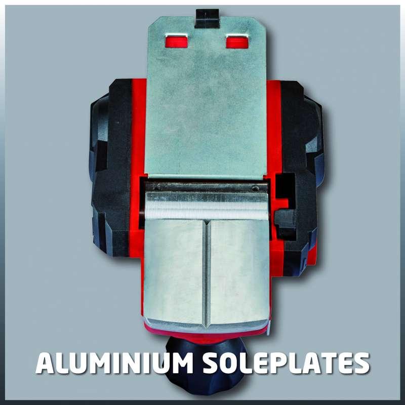 Piastra in alluminio