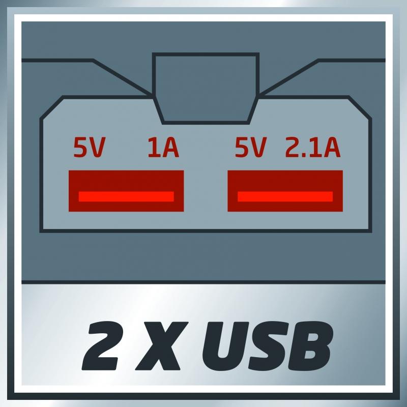 Doppia presa USB