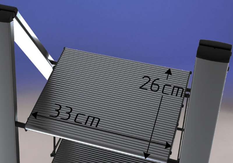 Sgabello in alluminio aero light svelt giordanojolly