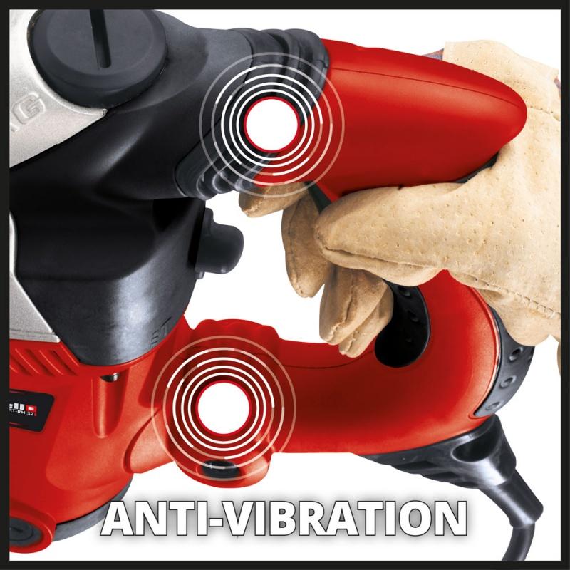 Impugnatura antivibrazioni