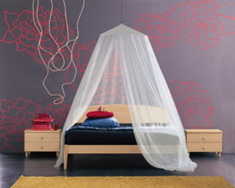Zanzariera per letto matrimoniale 0708 san giorgio - Baldacchino per letto matrimoniale ...