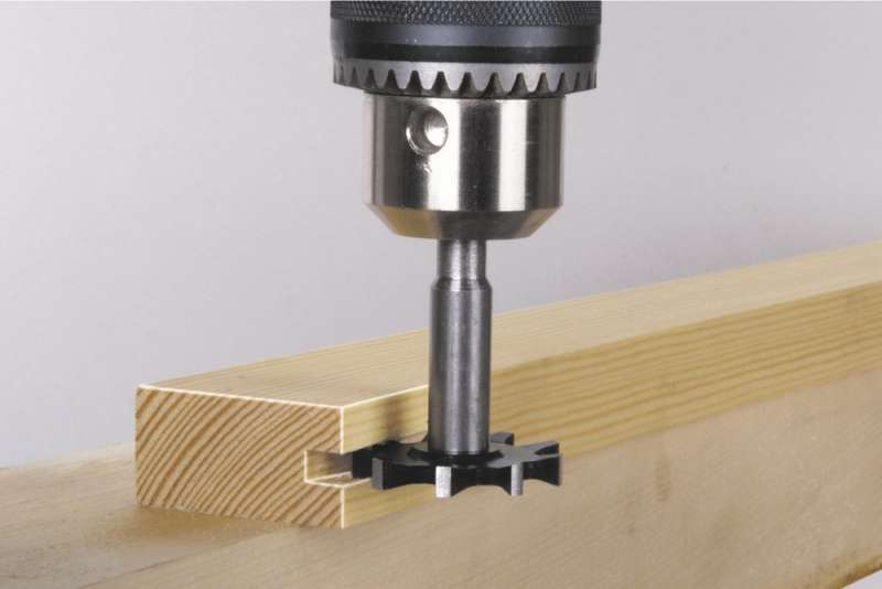 Fresa a disco per legno incastro femmina 35 mm Wolfcraft 326100