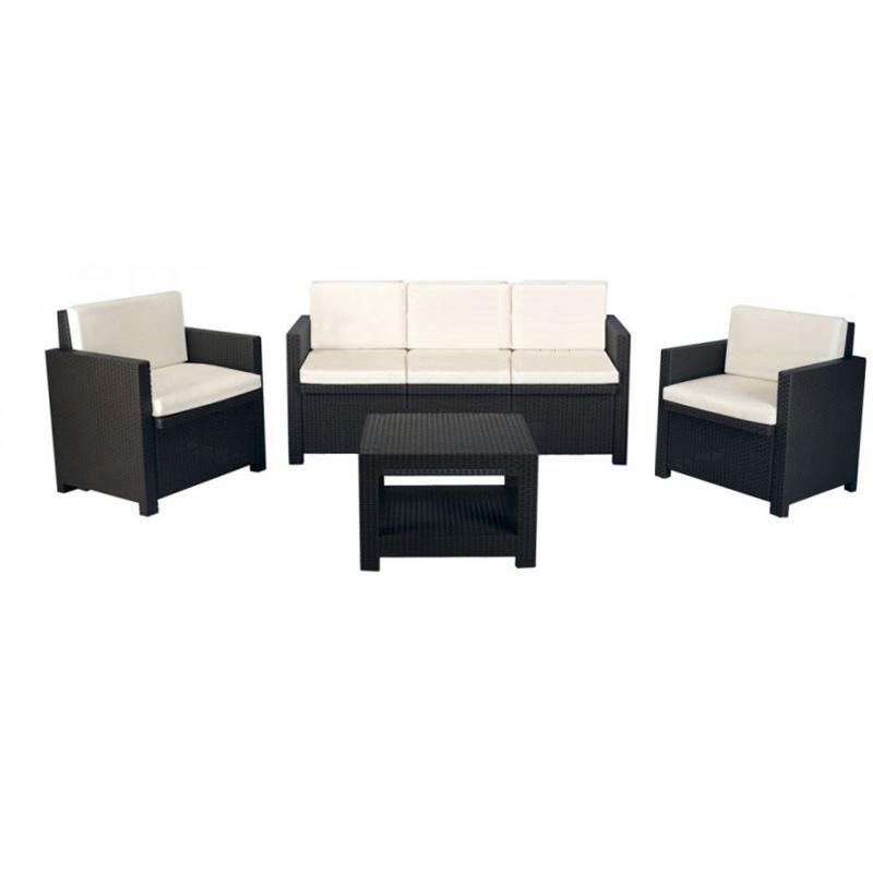 Divani set rattan tosca con divano 3 posti giordanojolly - Set divano rattan ...