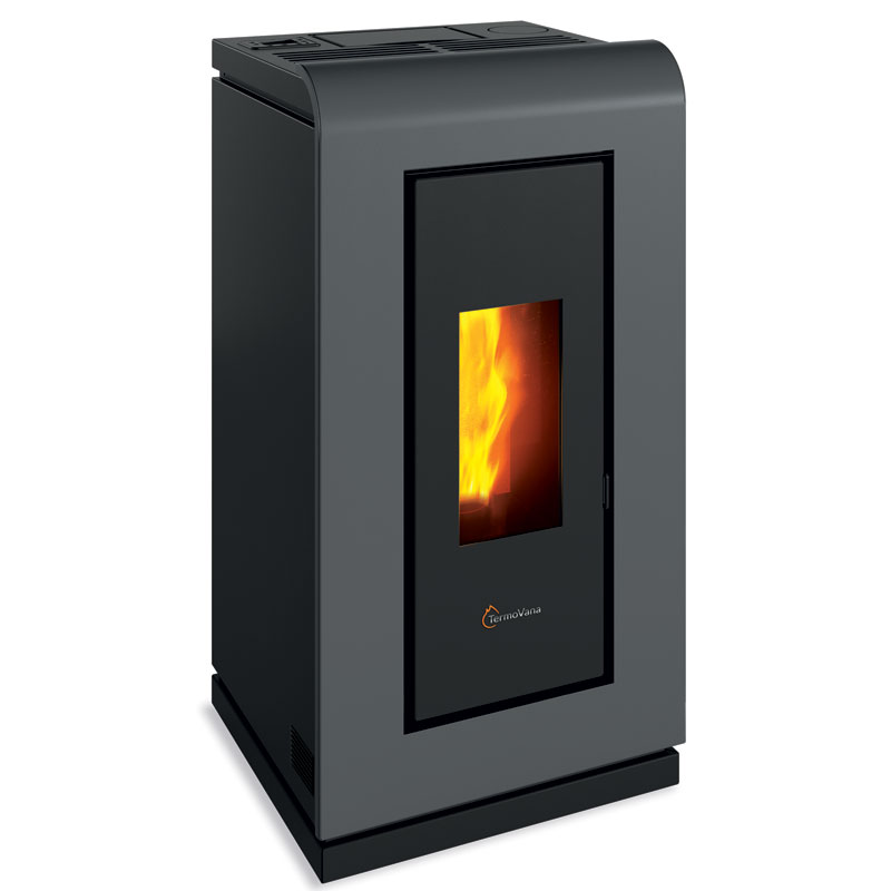 Stufa a pellet Air canalizzabile King 14 kW Termovana Classe A+