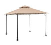 Gazebo in ferro 3x3 beige