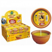 Candele citronella in cotto 7 sere Mondo Verde