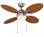 Ventilatore a soffitto 4 pale 65 Watt Vinco