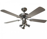 Ventilatore a soffitto 5 pale 55 Watt Vinco