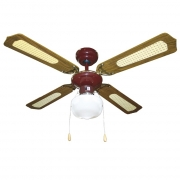 Ventilatore a soffitto 4 pale 55 Watt Vinco