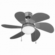Ventilatore a soffitto 6 pale 65 watt Vinco